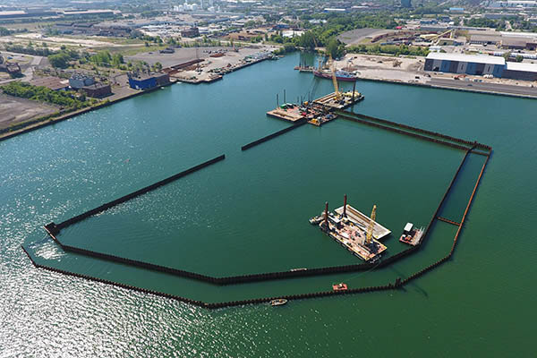 Aerial Image of Randle Reef Project